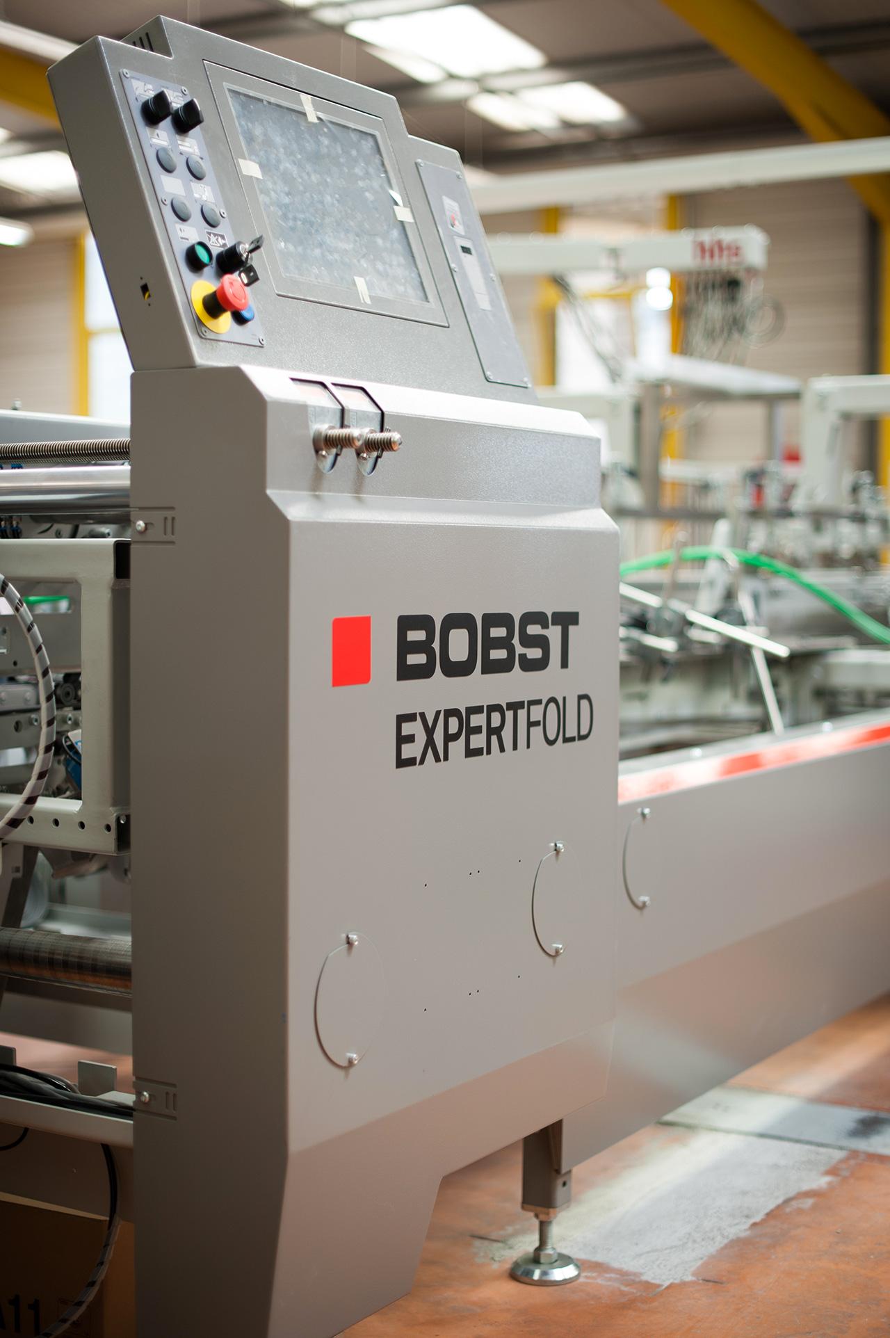 Nouvelle machine Bobst